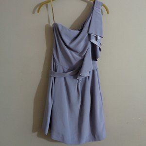 Lela Rose Bridesmaid 4 One Shoulder Wisteria Dress
